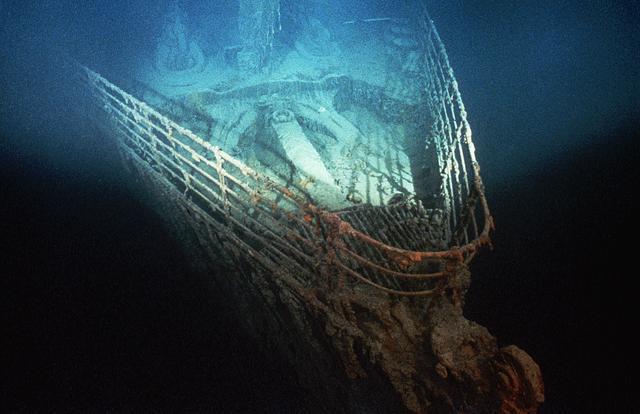 泰坦尼克号残骸正逐渐消失 破损腐蚀严重